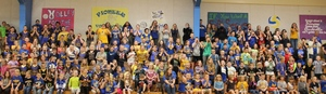 District-Wide Pep Rally Animates School Spirit
