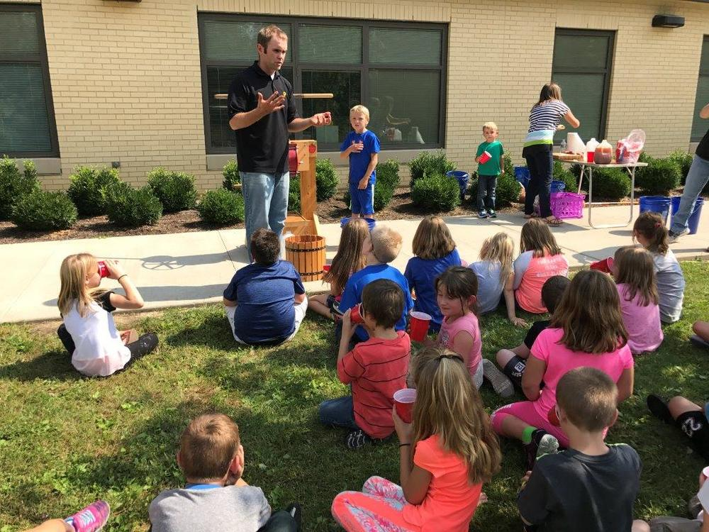 Second Grade Learns About the Life Cycle of Bees