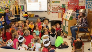 Johnny Appleseed Day Celebrated in Kindergarten and First