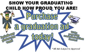 Graduation Ads On Sale!