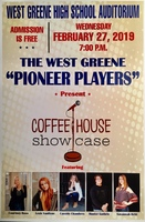 The Pioneer Players to Present Coffeehouse Showcase