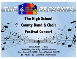 County Band & Choir Festival Concert