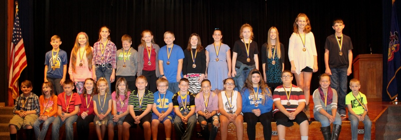 Students Honored at PSSA Awards Ceremony