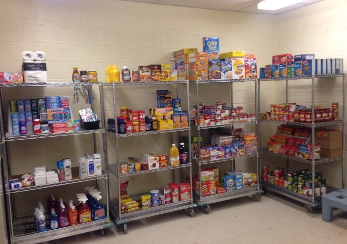 Food Drive Success Stocks West Greene Pantry Program