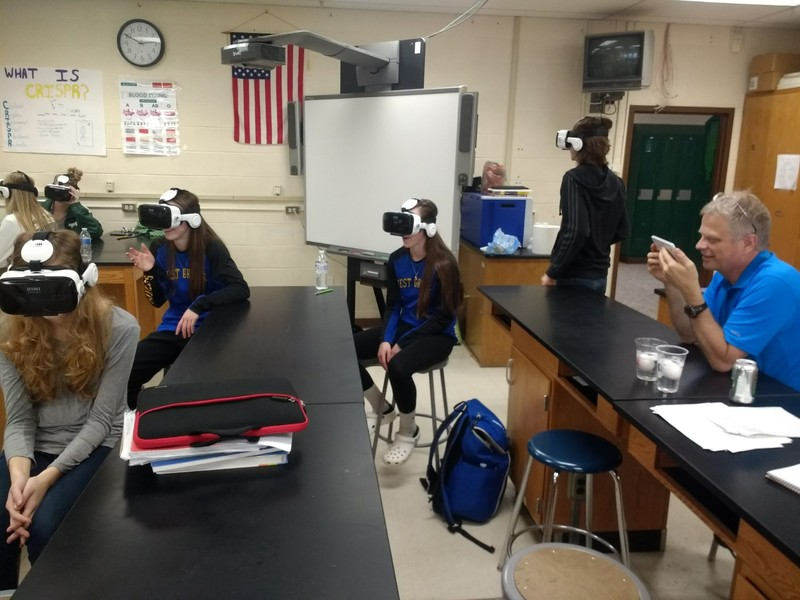VR Enters West Greene Classrooms