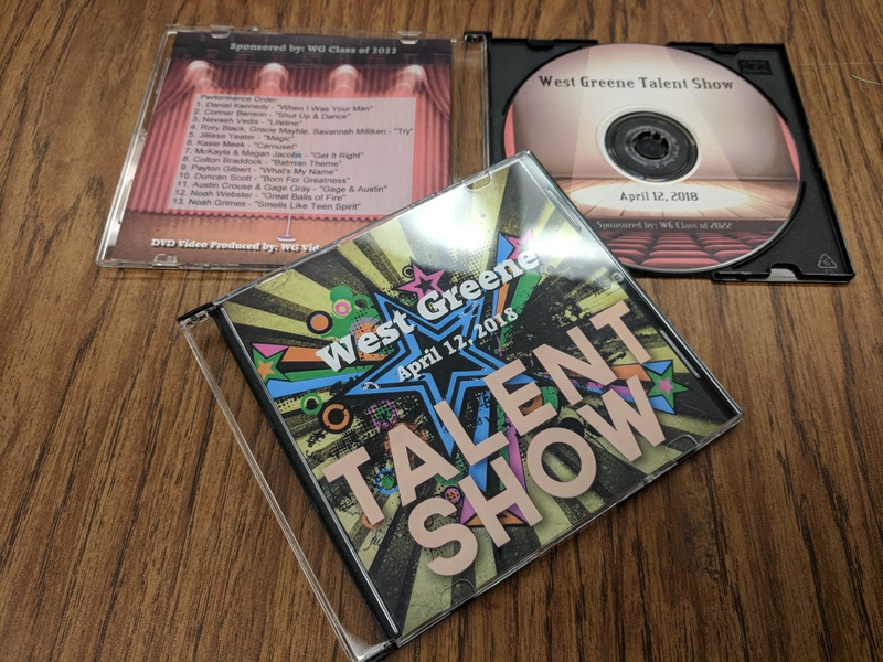 Talent Show DVDs Available Now!